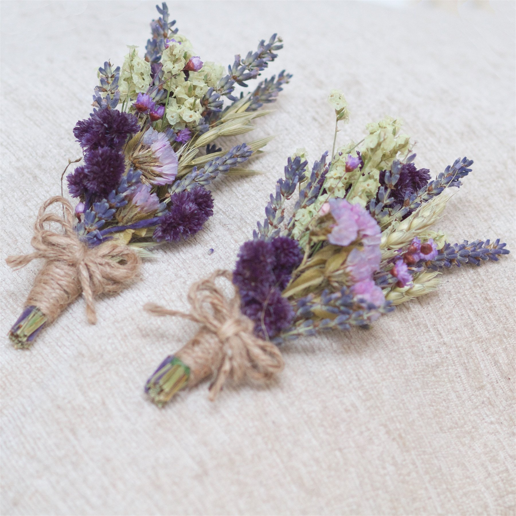 """Featured image for """"Country Purple Dried Buttonholes (Set of 2)"""""""